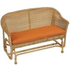 Home Decorators Collection Tuscan Sunbrella Outdoor Patio Settee Cushion