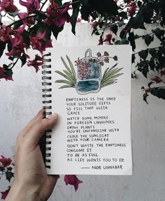 How to fill emptiness // poetry by Noor Unnahar Poetry Quotes, Words Quotes, Me Quotes, Motivational Quotes, Inspirational Quotes, Sayings, Citation Photo Insta, Art Journal Inspiration, Journal Ideas