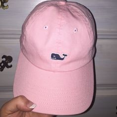 Vineyard vines pink hat Pink Vineyard Vines ball cap slightly worn Vineyard Vines Accessories Hats