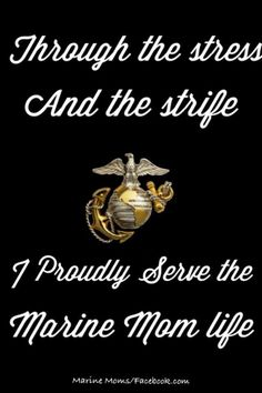 Discover and share Proud Of My Marine Quotes. Explore our collection of motivational and famous quotes by authors you know and love. Marine Mom Quotes, Military Quotes, Military Mom, Military Families, Proud Mom, Proud Of Me, Marine Love, Navy Mom, Marines
