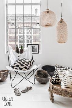Etnic vibes in a black and white interior | Sponsor spotlight
