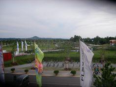 Blick zum Weleda - Garten