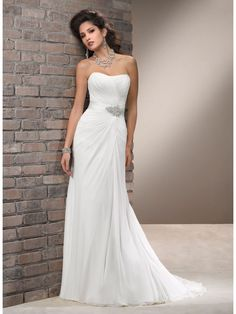 Wedding Dresses Simple and Cheap - Plus Size Dresses for Wedding Guests Check more at http://svesty.com/wedding-dresses-simple-and-cheap/