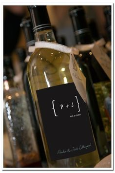 Custom Wine Bottle Labels for Any Event