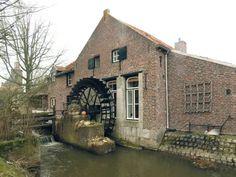 Flour mill, De Armenmolen, Neeritter, the Netherlands.
