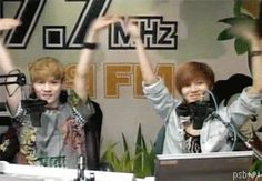 SHINee Repinning the cuteness Gif | Taemin and Key Being Funny <3