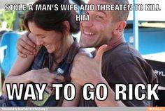 Way to Go Rick