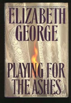 Playing for the Ashes (Inspector Lynley) by Elizabeth George http://www.amazon.com/dp/0553092626/ref=cm_sw_r_pi_dp_9B.Wtb1KM60Z7MD5