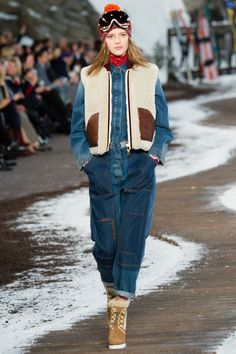 c79a096c43d7 Tommy Hilfiger Autumn Winter 2014 Ready-To-Wear Collection zipped jumpsuit