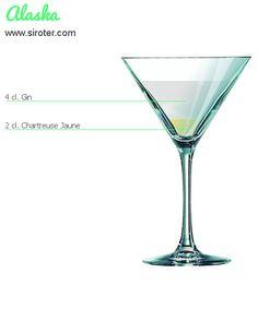 Recette Cocktail ALASKA