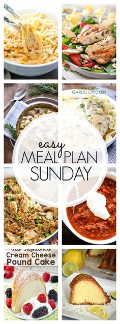 Welcome back to Easy Meal Plan Sunday #82! Lots of great recipes as always so be sure to grab the recipes.