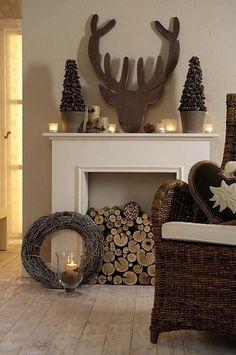 Transformez Un Manteau De Cheminée En Féerie De Noël! Le Top 20 Des  épingles Pinterest