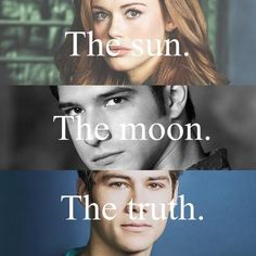teen wolf, lydia, and stiles εικόνα