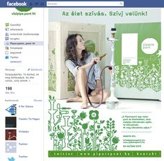 Pipacspont Facebook Welcome tab