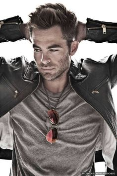 Chris Pine  (Visual Inspiration for Liam Gray in Reflections of the Wolf)