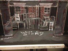 West side story set design model by Cody Rutledge