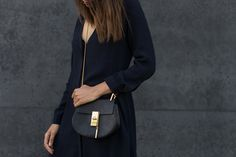 theadorabletwo_chloé_drew_bag_minimalist_outfit_COS_blue_dress