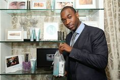 Actor Jay Pharoah stops by the #Nerium gifting suite at the #Emmys. (Photo by Omar Vega/Invision for Backstage Creations/AP Images)