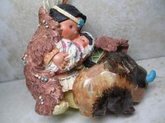 Friends of the Feather Figurine 1996 Great Provider