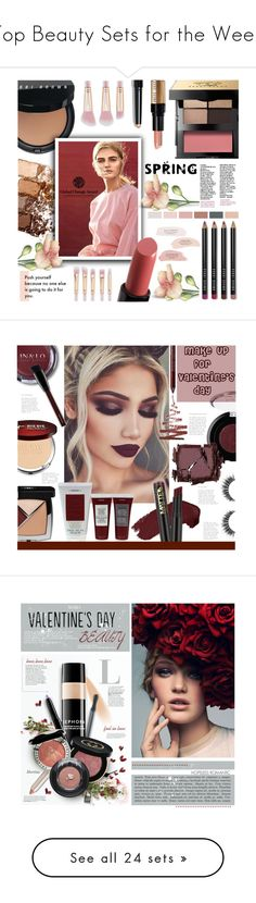 """""""Top Beauty Sets for the Week"""" by polyvore ❤ liked on Polyvore featuring beauty, Bobbi Brown Cosmetics, Maybelline, H&M, L.A. Girl, Charlotte Russe, Chanel, It Cosmetics, Korres and Kevyn Aucoin"""