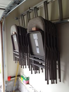 How To Make Folding Chair Racks