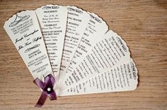 images of Formal event programs | program design ideas to guide your party guest 21 30 Wedding Program ...