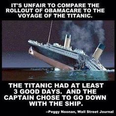 Hilarious: This is why it's unfair to compare the Obamacare rollout to the Titanic...