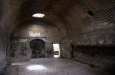 Apodyterium Of The Men's Baths, Herculaneum