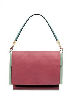 Jil Sander handbag colorblock