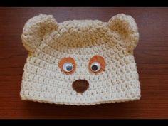 Medvedikova ciapka (neviditelny sev, 3 druhy usiek) - ako uhackovat - YouTube