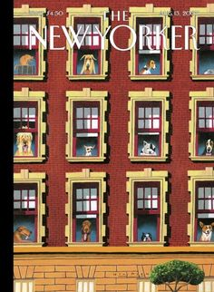 The New Yorker Cover - August 13, 2007 - by Mark Ulriksen