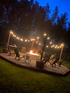 Fire Pit Seating, Fire Pit Area, Backyard Seating, Backyard Patio Designs, Diy Fire Pit, Fire Pit Backyard, Backyard Projects, Fire Pit Gravel Area, Fire Pit Off Patio
