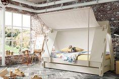 Tent Bed - Kids' Bedroom Ideas - Childrens Room, Furniture, Decorating (houseandgarden.co.uk)