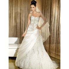 Demetrios bride: find the perfect wedding gowns, evening dresses the... via Polyvore