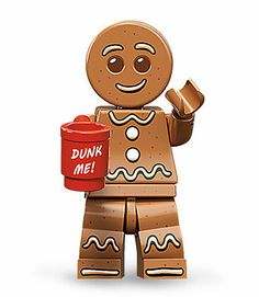 Lego Series 11 Gingerbread Man Minifigure