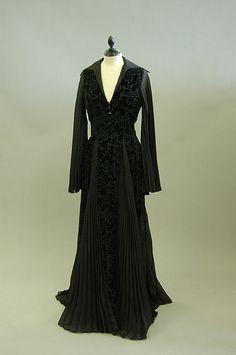 1970s Thea Porter Black Dress