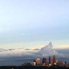 Fabulous view of ATLANTA. Snap via @bdubbs08
