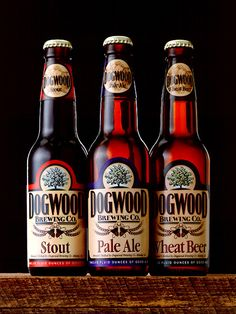 Dogwood Brewing Co.: Identity & Packaging by Mike Schulze, via Behance