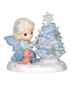 Look at this #zulilyfind! Fairy Christmas Tree Figurine #zulilyfinds