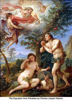 The Expulsion from Paradise by Charles Joseph Natoire