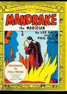 Golden Age Of The Comics - Mandrake The Magician - Hardcover Books - Comic Hardbacks, Paperbacks, Etc. - COMICS