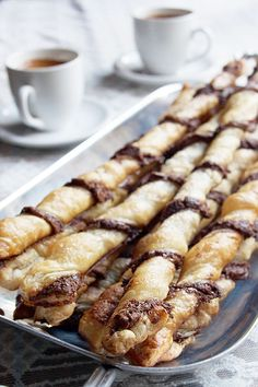 It doesn't get much easier than puff pastry Nutella twists. If you ask me, the hardest part is saving some for your friends!