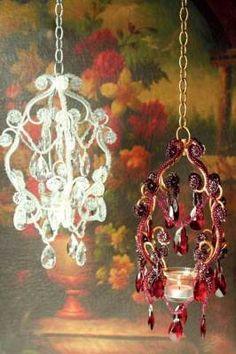 chandelier boudoir lamps