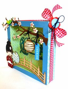 scrapbooking, shodow box
