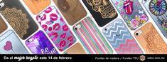 Da el mejor regalo este FEBRERO. Fundas para celulares iPhone y Samsung wdcomexico