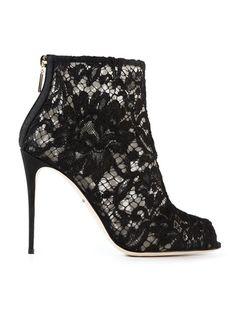 Dolce & Gabbana Ankle Boot Modelo 'bette' - Gisa - Farfetch.com