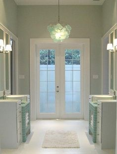 Sherwin Williams Sea Salt SW6204. Love this color...so soothing.
