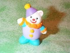 HALLMARK 1992 Merry Miniature SEAL Happy Birthday Cake Topper