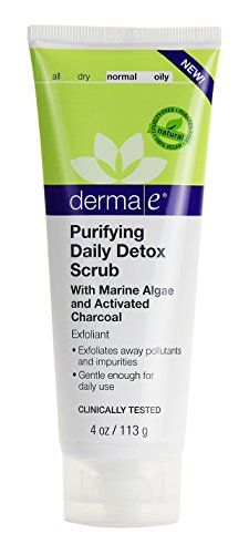 derma e Purifying Daily Detox Scrub With Marine Algae and Activated Charcoal 4 oz >>> You can get more details by clicking on the image.