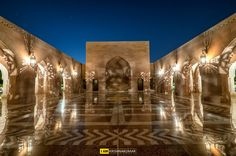 Oman | Lights & Reflections, Sultan Qaboos Grand Mosque. credit: Krishnakumar. view on Fb https://www.facebook.com/OmanPocketGuide #oman #traveltooman #destination
